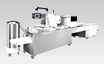 Automatic Tyvek and blister packing machine